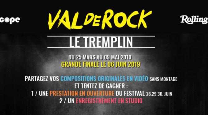 Le Tremplin Musical Val de Rock avec Rolling Stone Magazine, RTL2 et Audioscope Studio ! — Une Sélection de Sorties