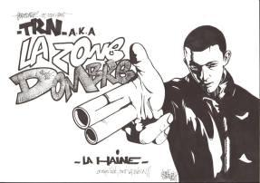 the RAID NOZE dit LAZONE DOMBRE