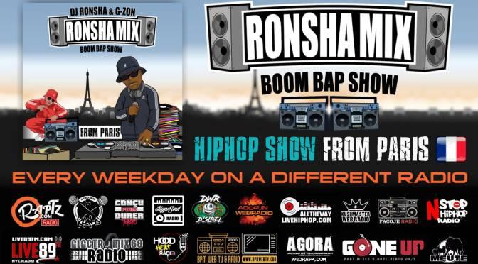 DJ RONSHA ET G-ZON #BOOMBAPSHOW# LA MEUTE SUR LES ONDES RADIO