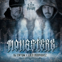 "DJ ENYGM X LOCO RODRIGUEZ L'album ""MONASTERE"""